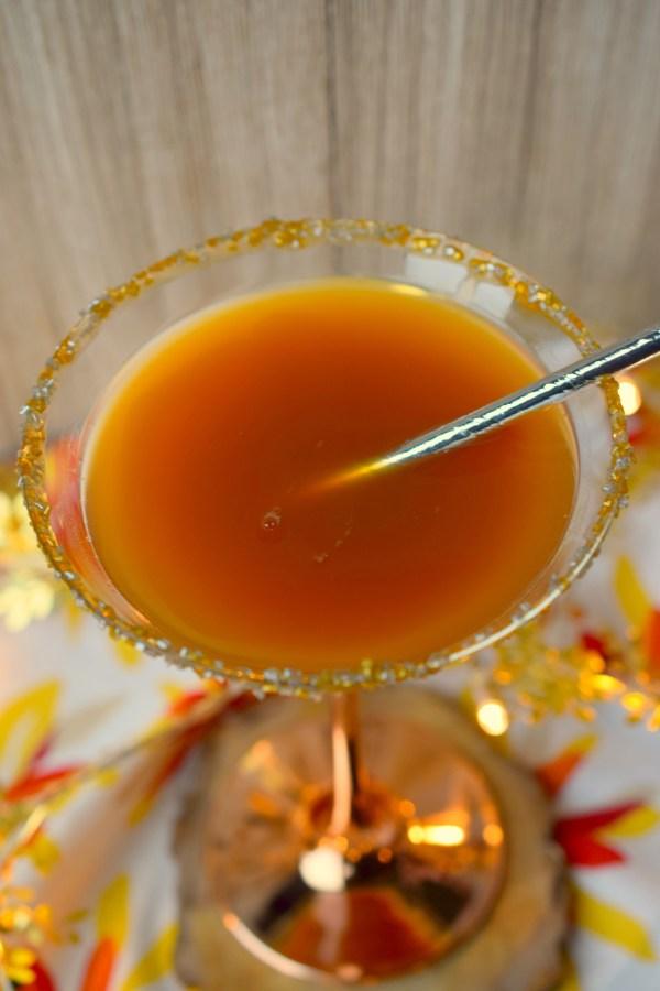 Amaretto Apple Cider Cocktail