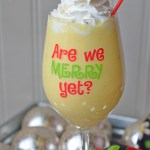 No Egg in This Nog {Eggless Eggnog}