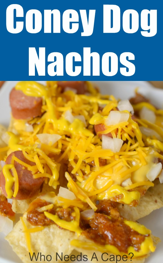 Coney Dog Nachos