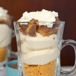 Layered Peanut Butter Delight Parfait
