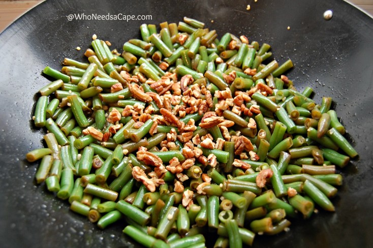 20 Minute Garlic Green Beans