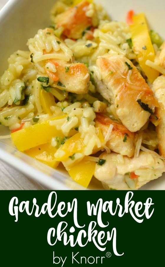 Garden Market Chicken | Who Needs A Cape?