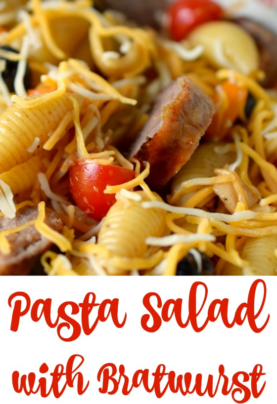 Pasta Salad with Bratwurst