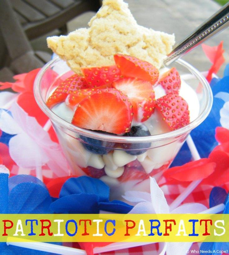 Patriotic Parfaits
