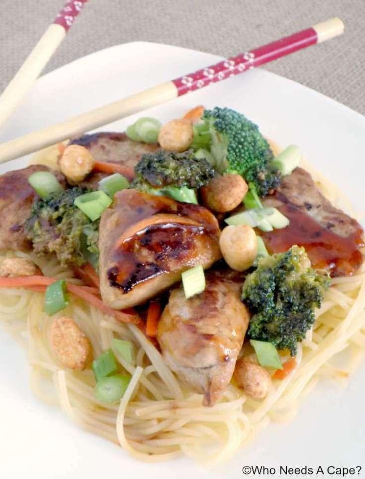 20 Minute Pork & Veggie Stir-Fry