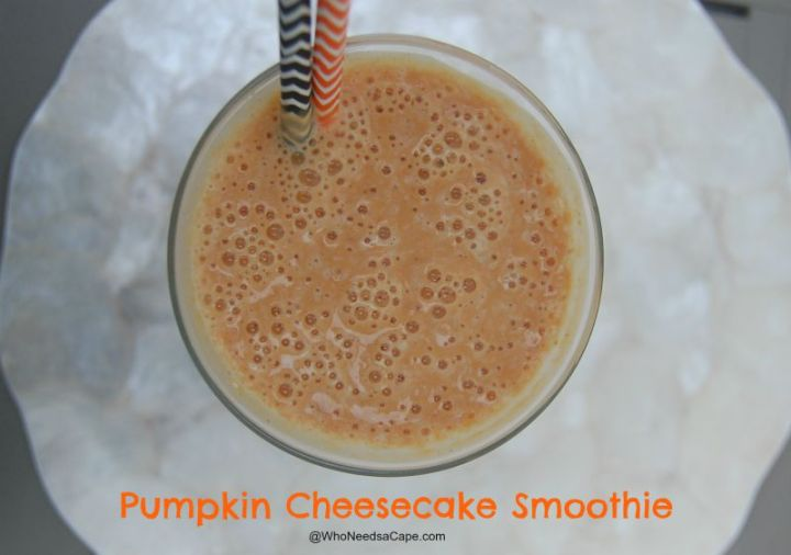 Pumpkin Cheesecake Smoothie