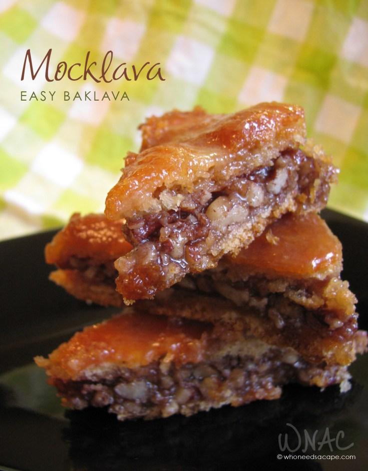 Mocklava (Easy Baklava)