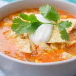 Slow Cooker Cheesy Taco Soup