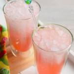 Watermelon Fizz Cocktail #BrunchWeek