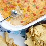 Warm Bean Dip also known as Texas Trash