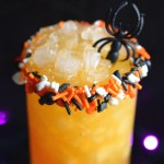 Spider Cider Cocktail #HalloweenTreatsWeek