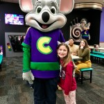 Birthday Party Fun at Chuck E. Cheese