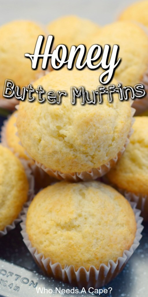 pile of prepared honey butter muffins