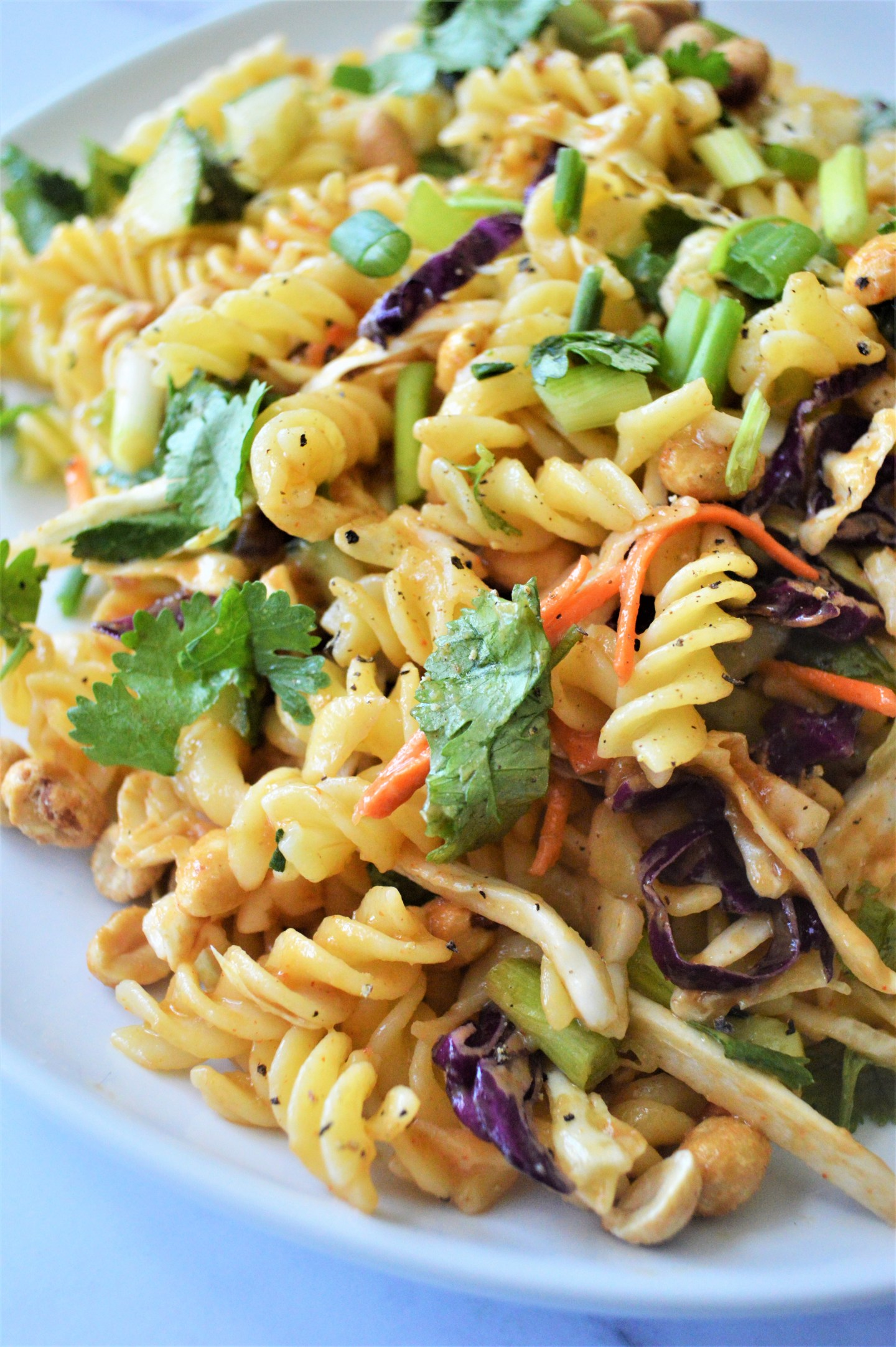 Thai Noodle Salad by Who Needs A Cape? - WEEKEND POTLUCK 439