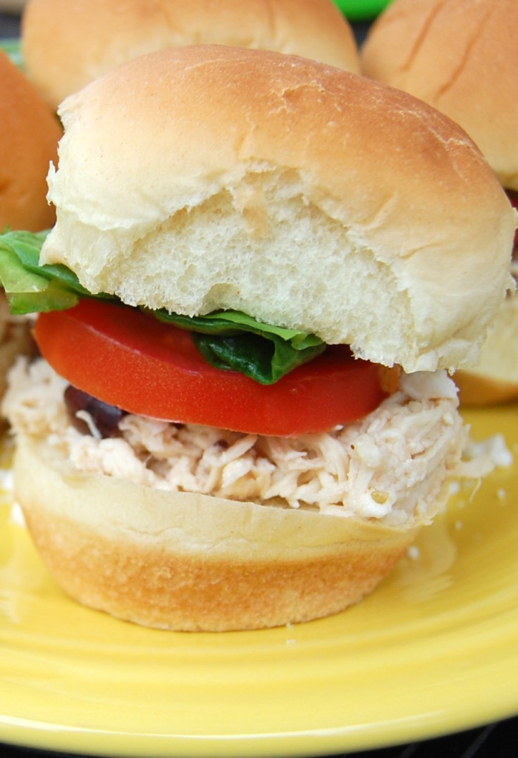 Greek Chicken Sliders