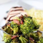 Roasted Broccoli with Bacon
