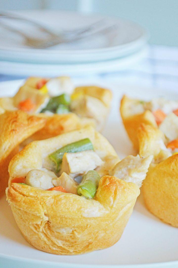 Muffin Pan Chicken Pot Pies