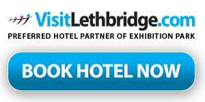 Official hotel provider of Exhibition Park Lethbridge, AB