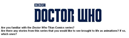 Thumbnail for BBC Animation Fan Survey!