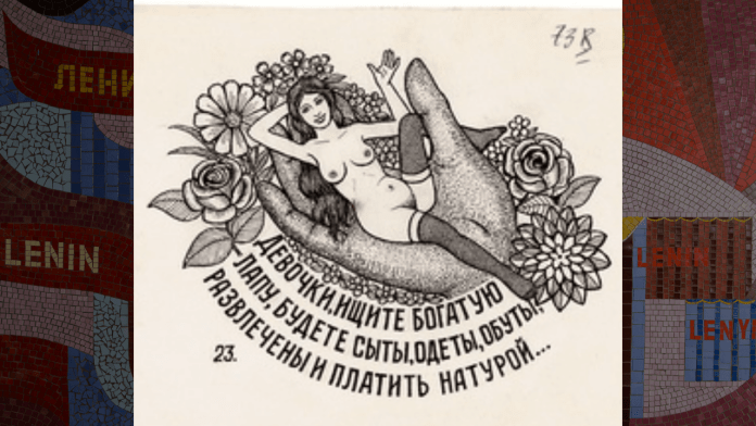 The Soviet Russian tattoos of prostitutes