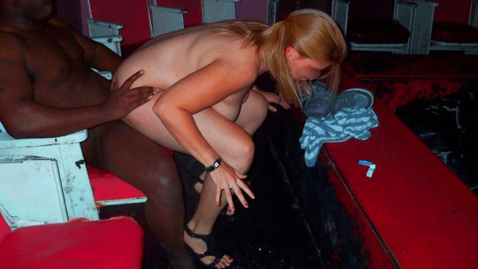 Adult theater stories BBC blonde slut