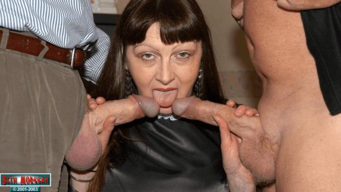Beth Morggan British granny anal porn star