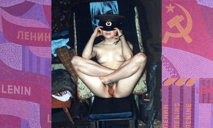 communist porn Russian whore soviet hat