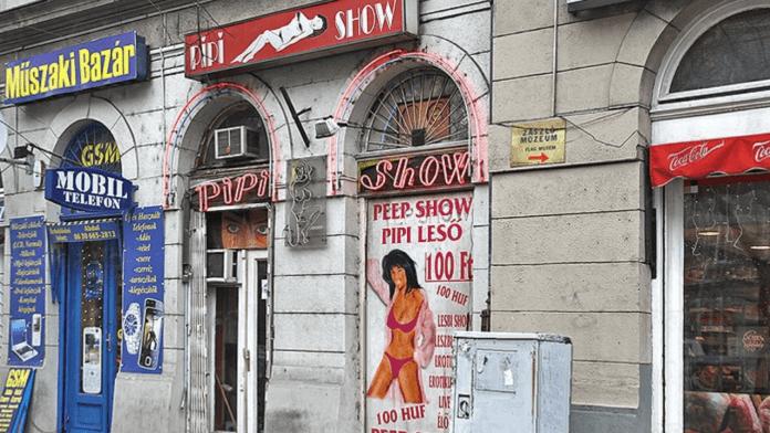 The peep world of Budapest, Hungary