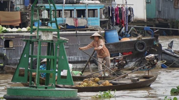 Stand-up paddling a là Mekong