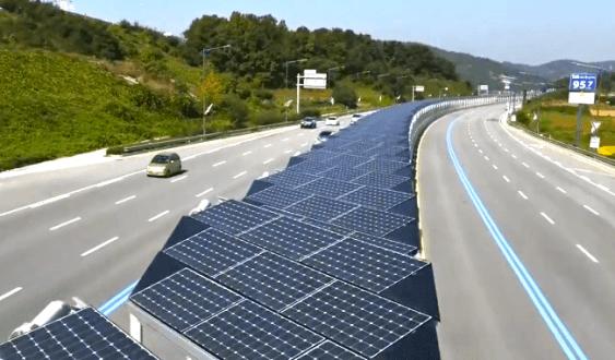 Bike Lane is Also 20 mi. Solar Highway