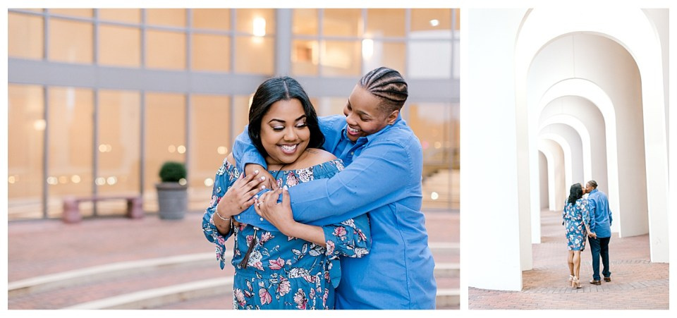same-sex engagement session newport news virginia