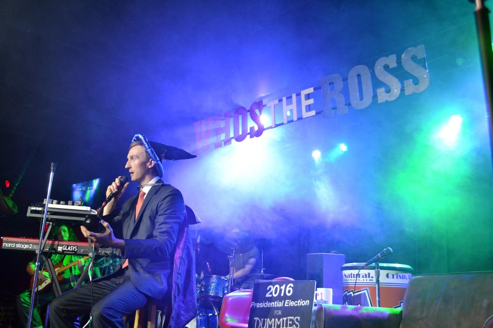Who's the Ross? Rosstradamus Aaron Ross Portland PDX comedy comedian talk show Dante's