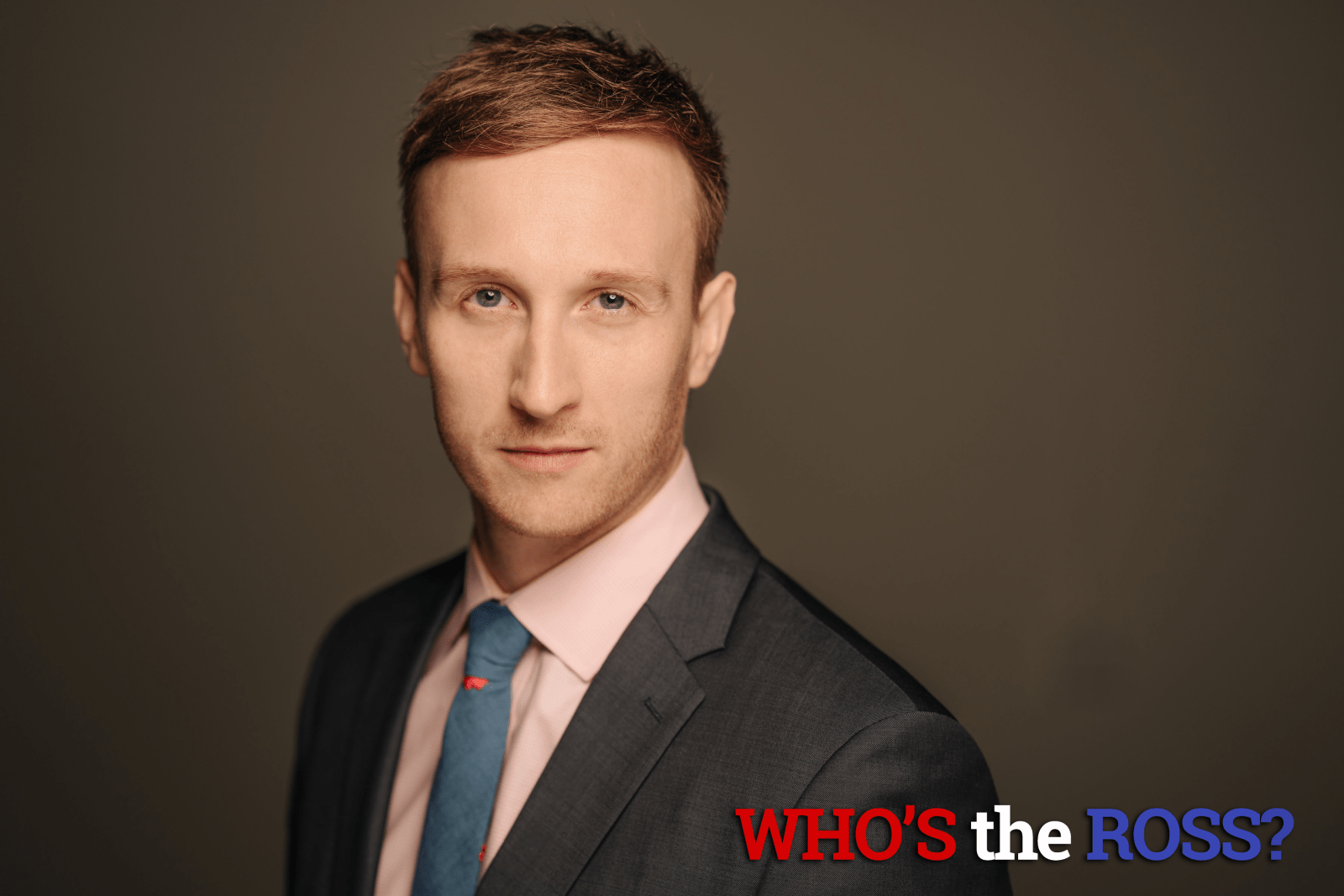 """""""Who's the Ross?"""" Aaron Ross Portland Oregon comedian funny host late-night talk show sketch improv best"""