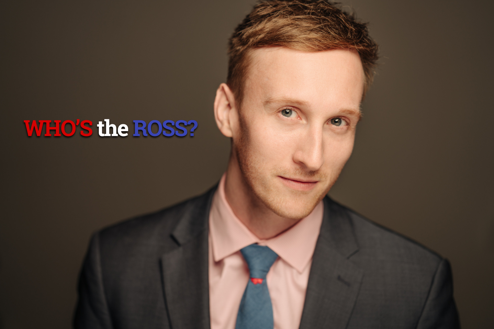 WHO'S the ROSS? Aaron Ross comedian comedy Portland talk show late-night actor