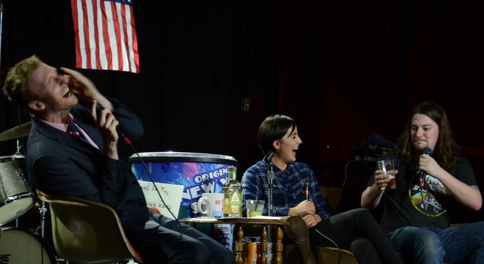 Jacqueline Toboni Grimm star actress fan Aaron Ross Who's the Ross? live comedy comedian Portland PDX talk show late-night