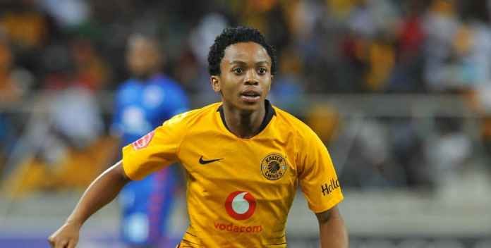 Nkosingiphile Ngcobo of Kaizer Chiefs during the Absa Premiership match between Supersport United and Kaizer Chiefs on the 15 March 2019 at Mbombela StadiumPic Sydney Mahlangu/ BackpagePix
