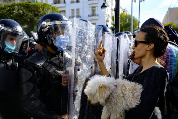 Tunisian Police Clamp Down On Young Activists