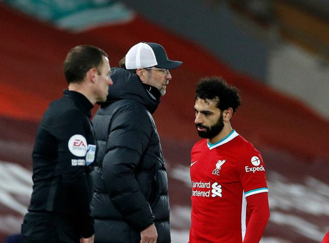 Liverpool FC manager Jurgen Klopp explains why he substituted Mo' Salah