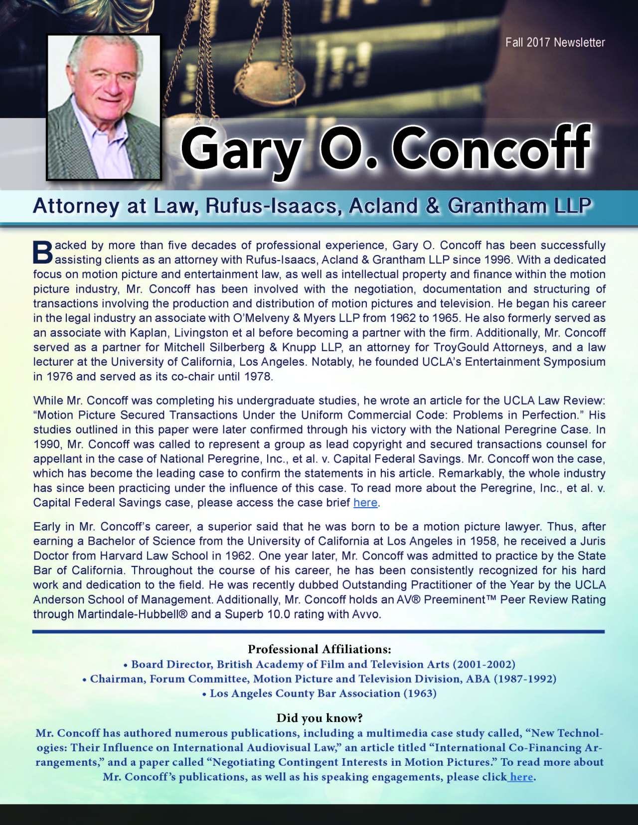 Concoff, Gary 3661477_31233981 Newsletter