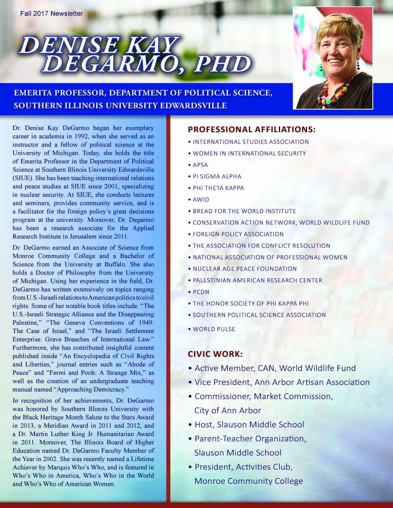 Degarmo, Denise 3641054_30039636 Newsletter