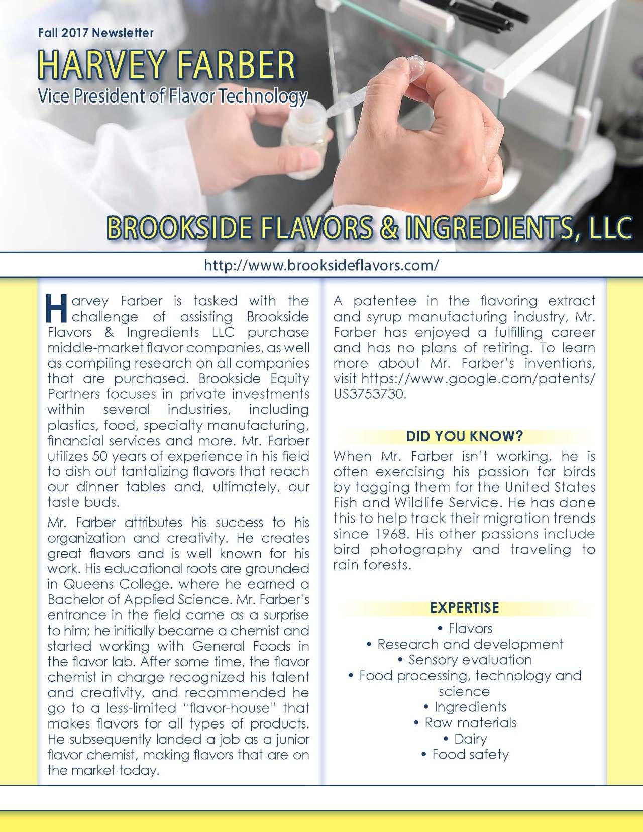 Farber, Harvey 3691250_4003691250 Newsletter REVISED