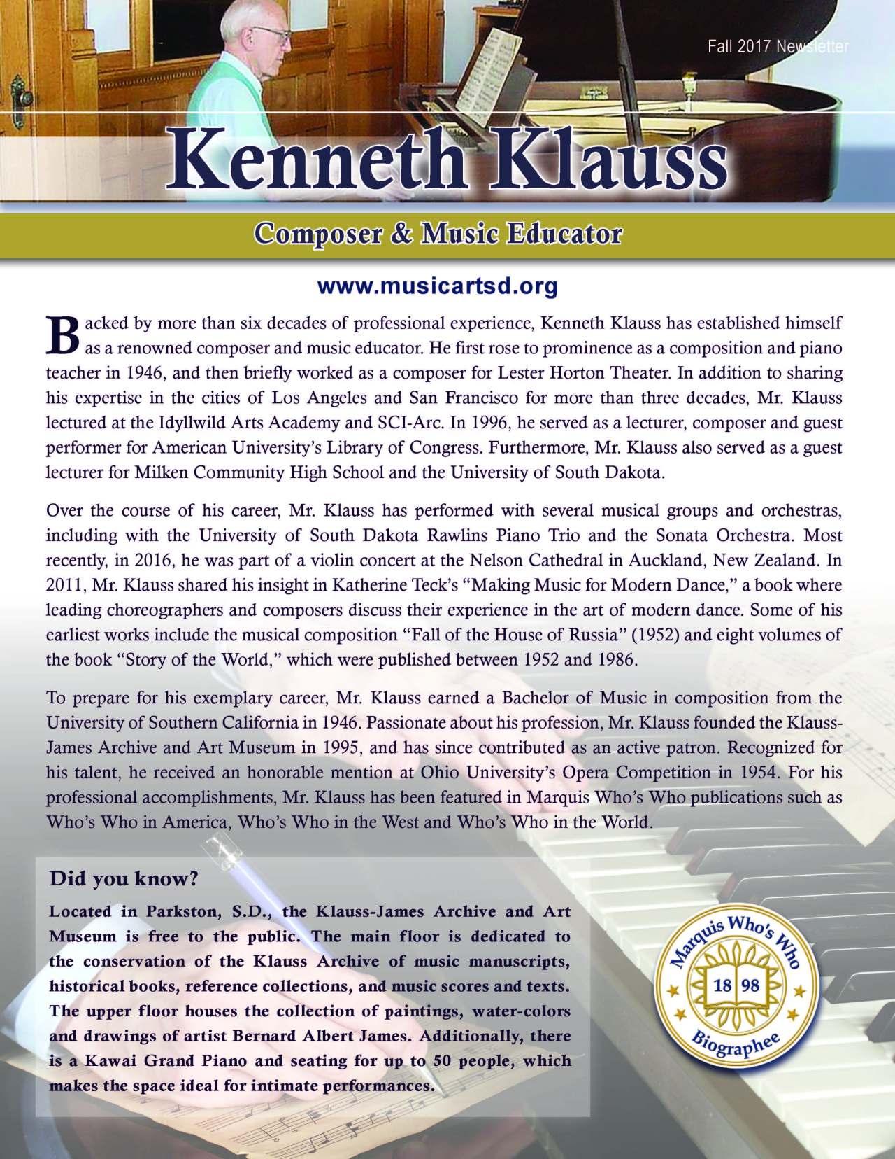 Klauss, Kenneth 2131776_26696500 Newsletter.jpg