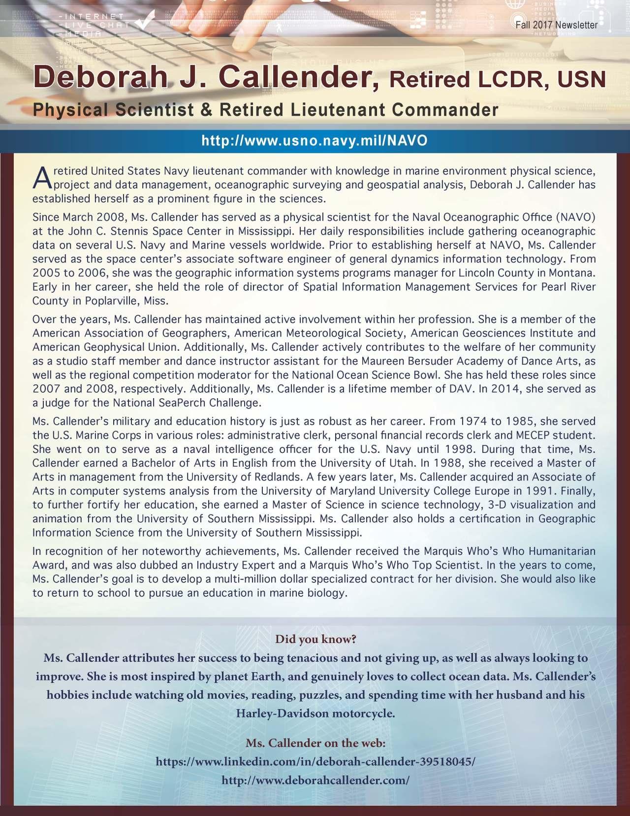 Callender, Deborah 1987726_40004162 Newsletter