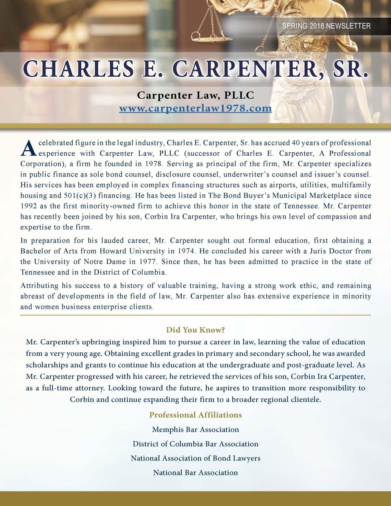 Carpenter, Charles 3718705_4003718705 Newsletter REVISED