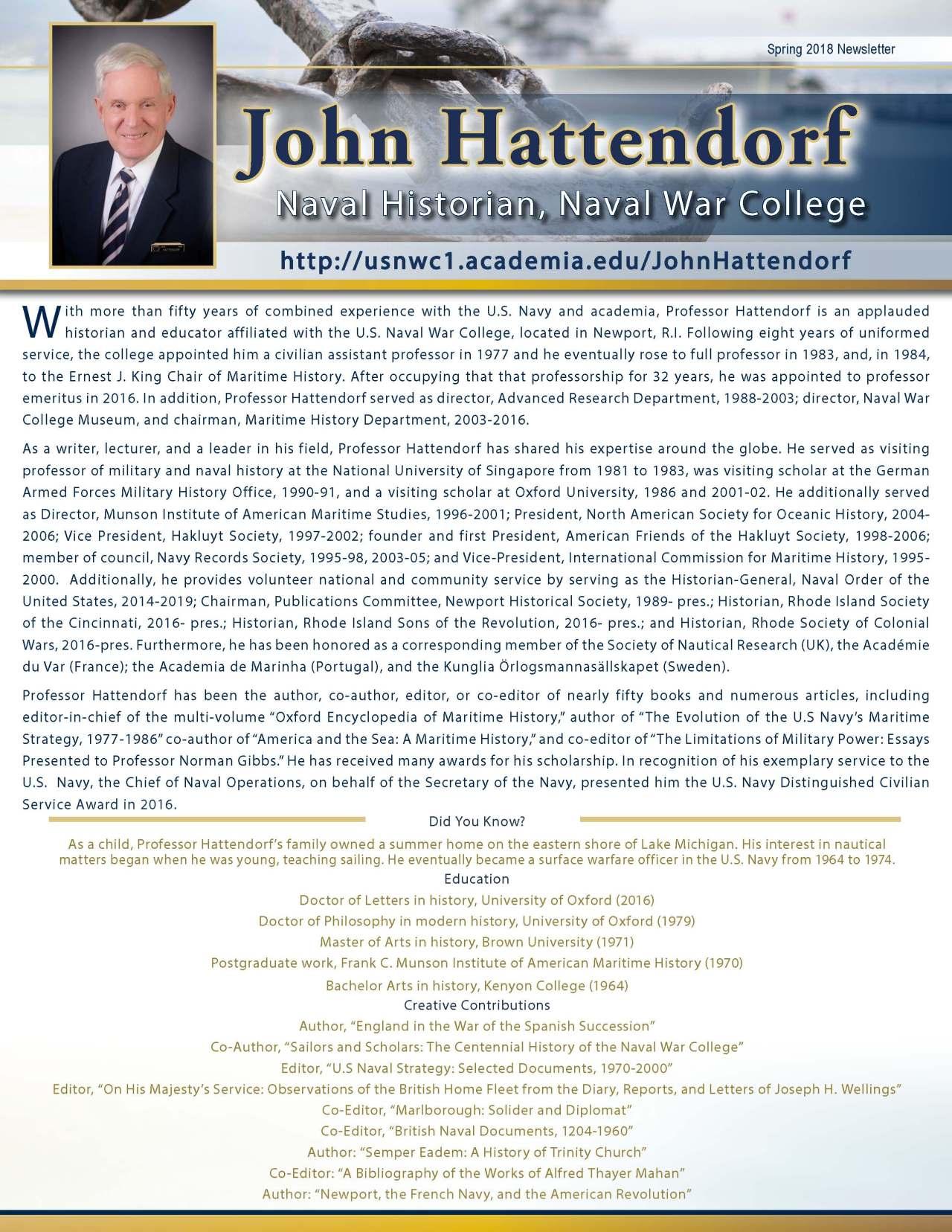 Hattendorf, John 3711026_4003711026 Newsletter REVISED