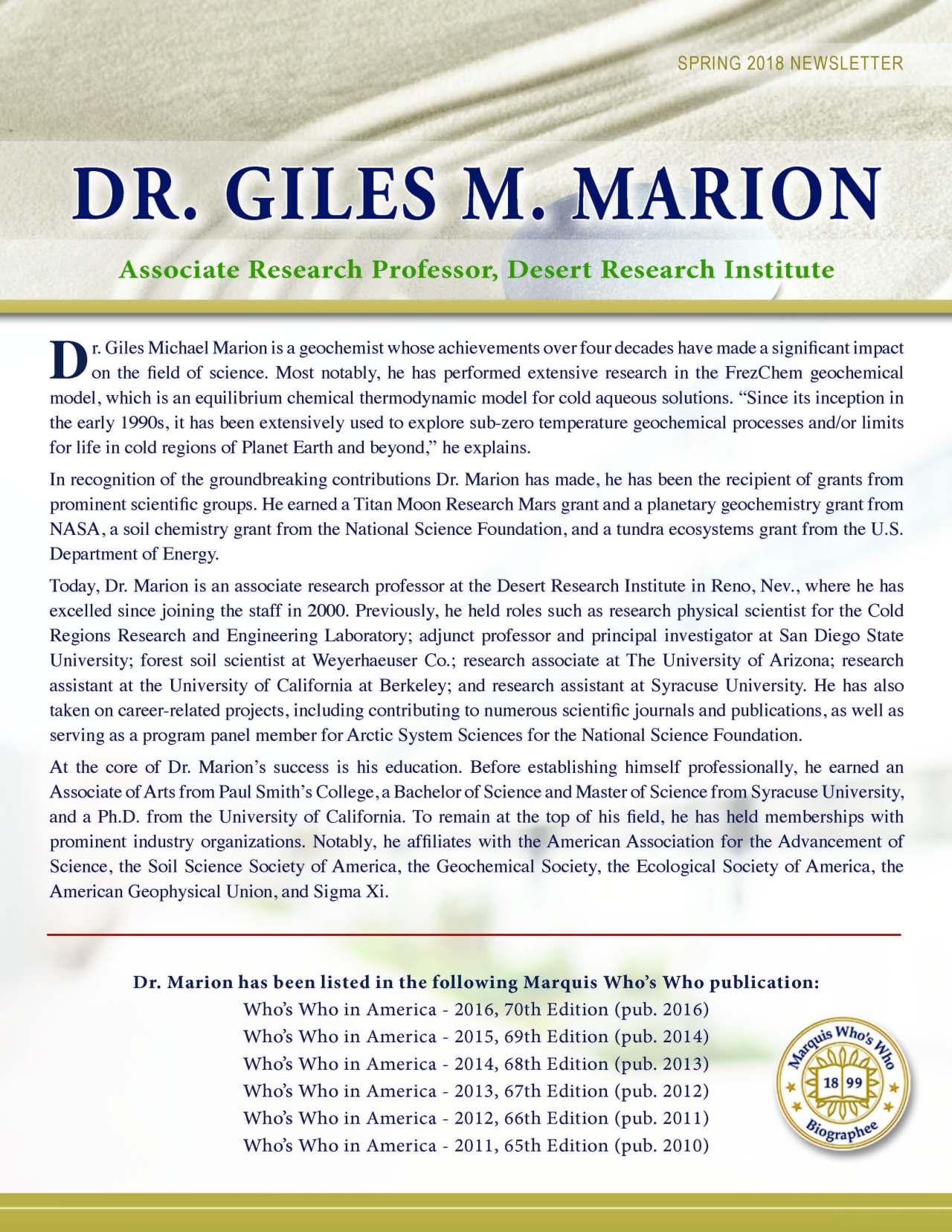 Marion, Giles 2145978_35328648 Newsletter