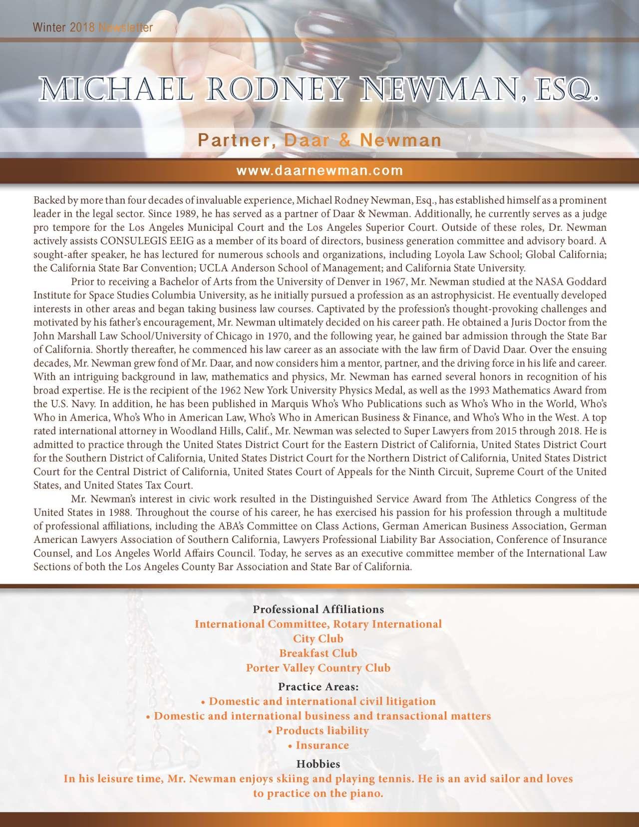 Newman, Michael 2154219_506540 Newsletter.jpg