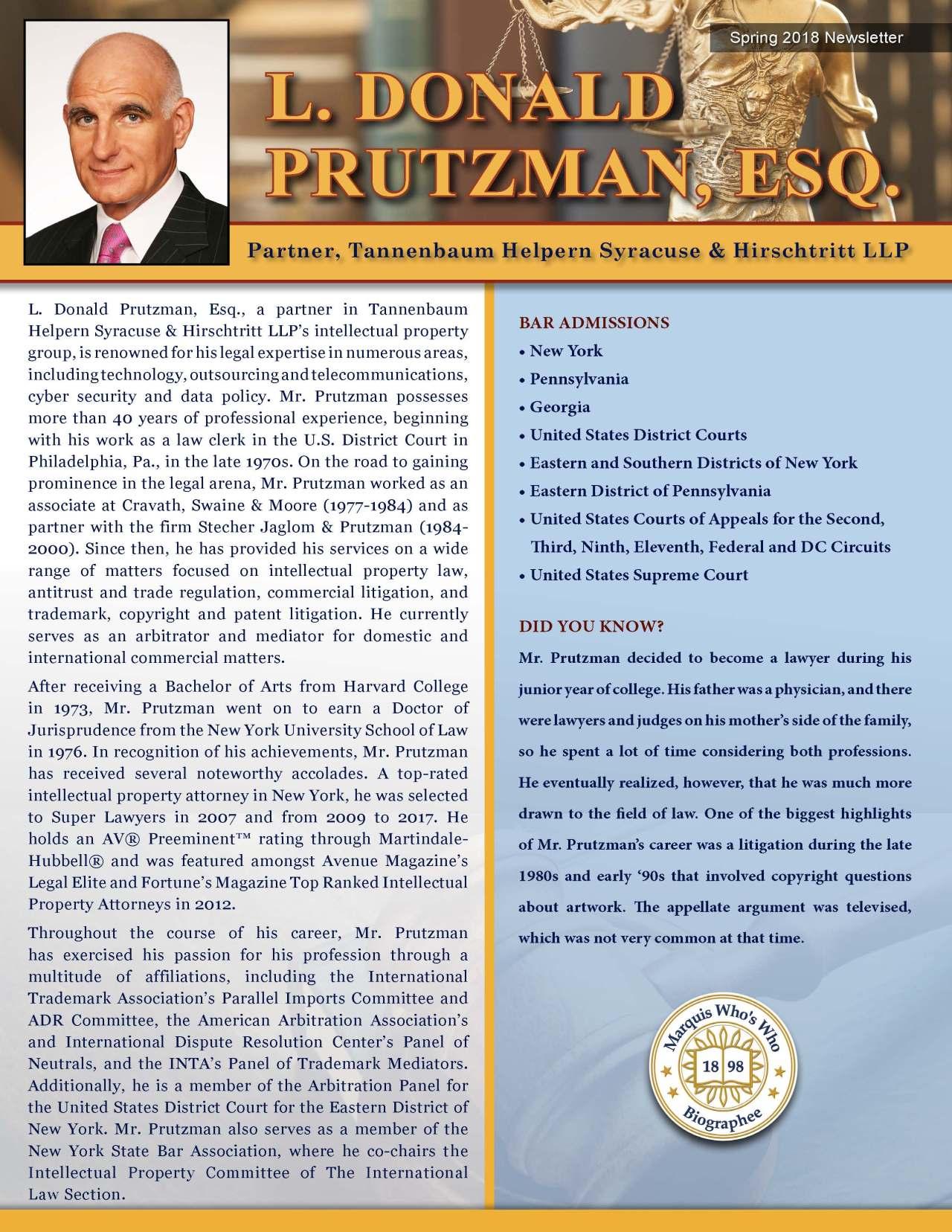 Prutzman, L. Donald 3685297_4003685297 Newsletter REVISED.jpg