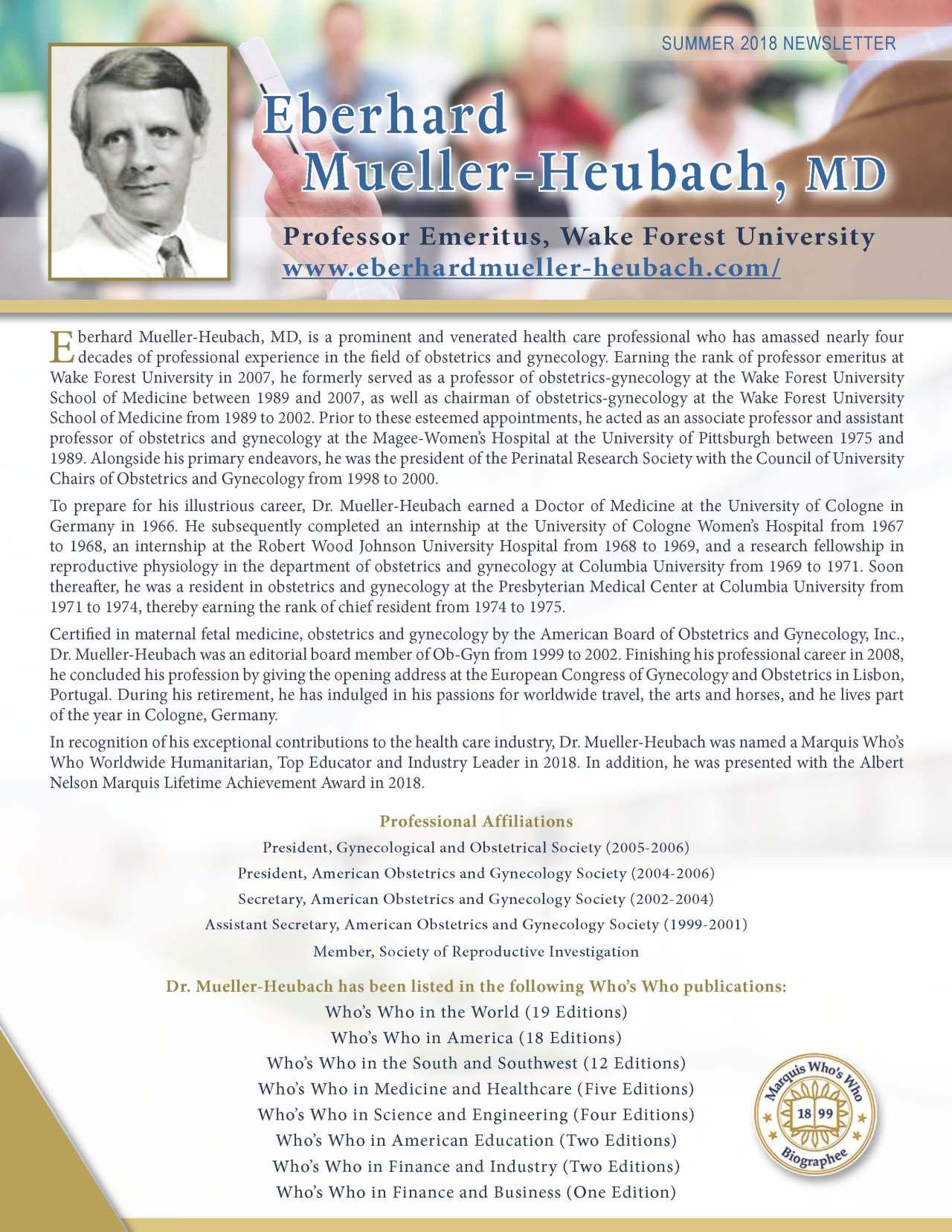 Eberhard Mueller-Heubach