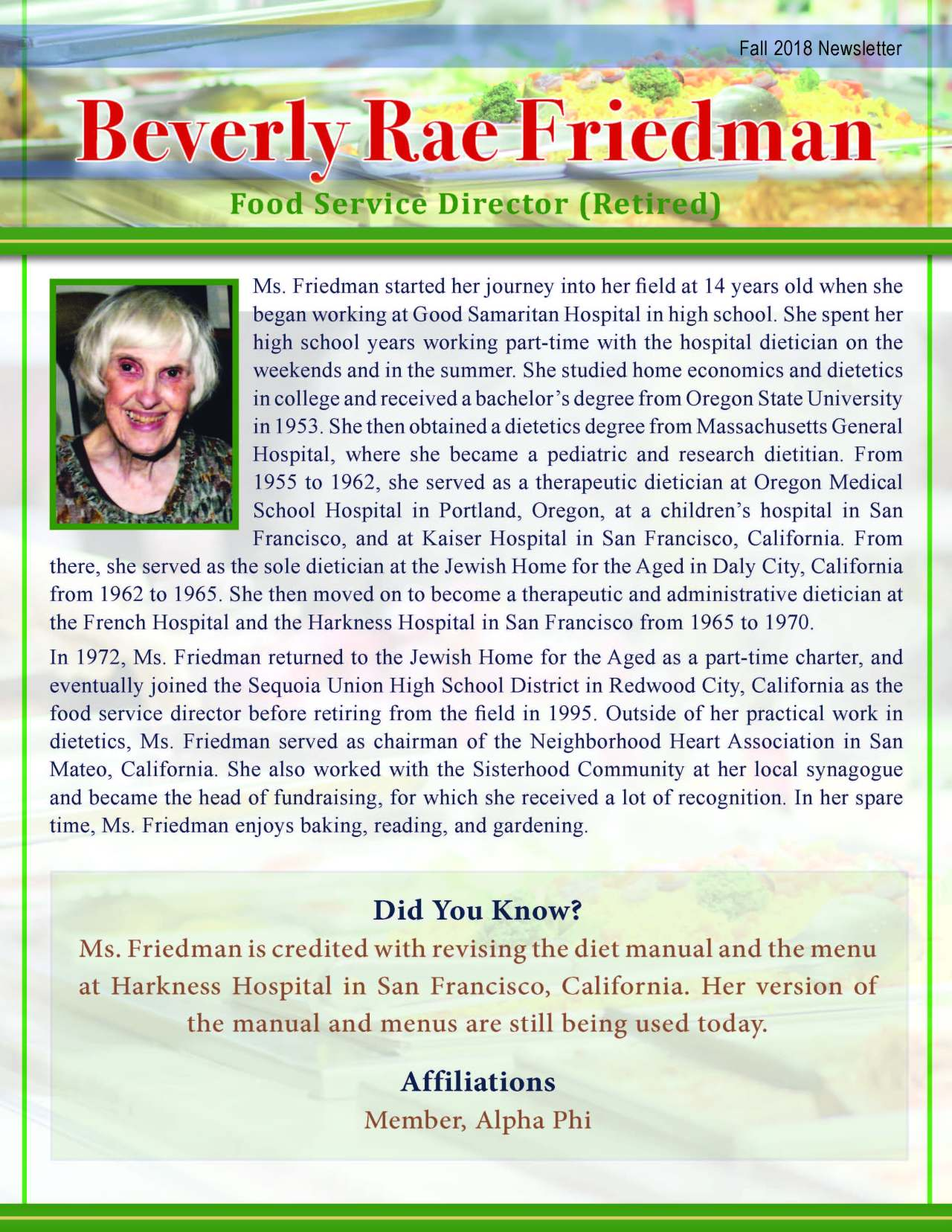 Beverly Friedman